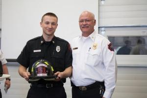 Engineer/EMT Ian Morey & Chief Mitch Flynn